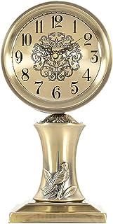 Klassisk skrivbord klockor, tyst bord klocka, metall skorsten klockor, hem dekorativa för vardagsrum, kök, sovrum, skrivbo...