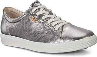حذاء رياضي نسائي منخفض الرقبة من ايكو ، فضي 1708، 7 UK