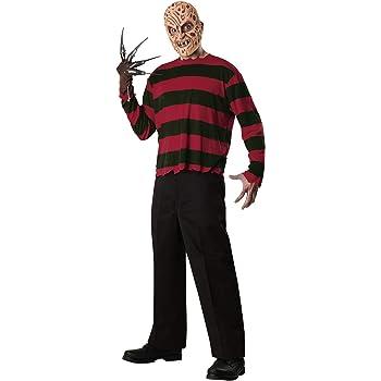 Disfraz de Freddy Krueger con gorro: Amazon.es: Ropa y accesorios
