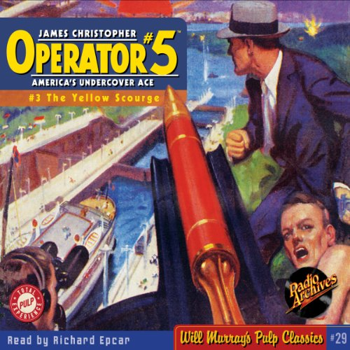 Operator #5 #3, June 1934 audiobook cover art