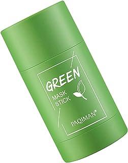 duhe189014 Maschera Purificante All'argilla al tè Verde Controllo Dell'olio AntiAcne Melanzane Solido Fine Pori Puliti in ...