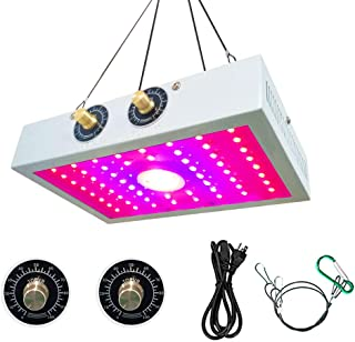 2019 New COB 1200W LED Grow Light Fixture Full Spectrum Plant Growing Lamps with UV IR for Indoor Plants Veg and Bloom Lighting and Indoor Plants Basement Planting
