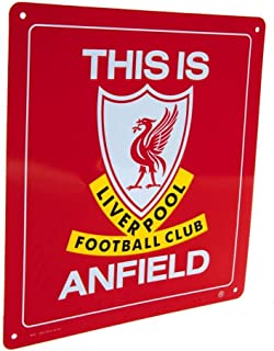 """Liverpool FC – """"This is Anfield"""" Official Metal Sign"""
