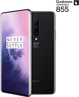 Oneplus 7 Pro (GM1910) Dual SIM 128GB+6GB RAM (Mirror Grey/ミラーグレー) SIMフリー 6.67インチ ワープチャージ Motorized pop-upカメラ