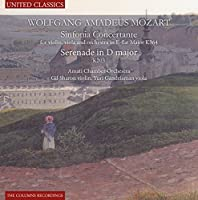 Mozart: Sinfonie Conertante