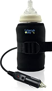 Cherub Baby Natritherm Car Bottle and Food Warmer, Black