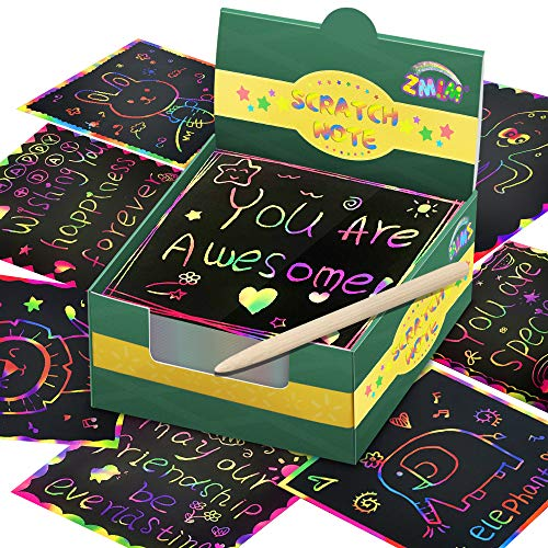 Magic Rainbow Scratch Note Pads