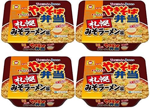 【北海道限定】やきそば弁当 札幌みそラーメン風×4個
