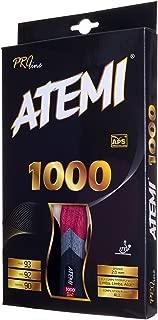 Atemi Palas De Ping Pong Pro Line 1000 - Raqueta De Tenis De Mesa Homologadas por La ITTF - Pala De Tenis De Mesa Ideal Tanto para Principiantes como Jugadores Más Avanzados