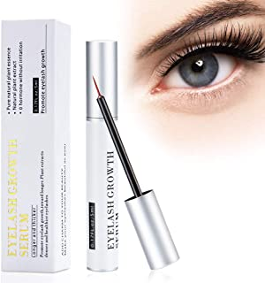 Eyelash Growth Serum Eyebrow Enhancer Serum Professional Eyelash Booster for Naturally Longer, Fuller & Thicker