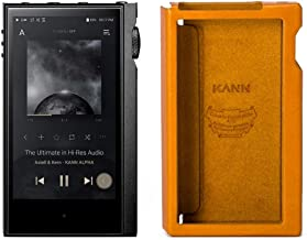 Astell & Kern Kanna Alpha Dual DAC Music Player with Leather Protective Case (Golden Brown) photo