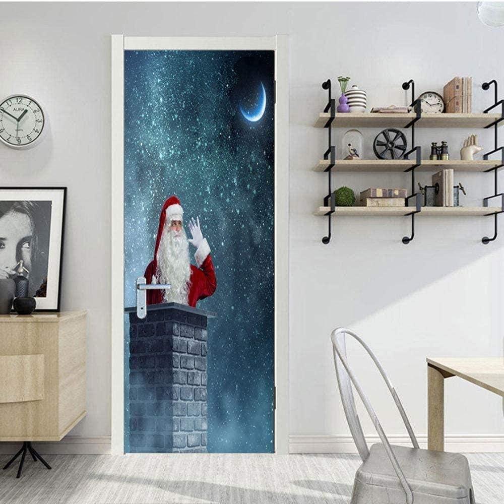 Details about  /3D Santa Claus Selfie A016 Christmas Wallpaper Murals Wall Print Wall Sticker Zo