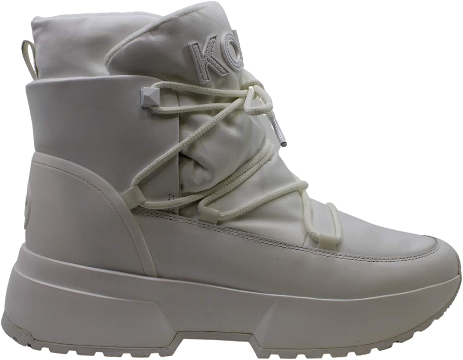 Michael Sales Kors Womens Cassia Some reservation Lamb White Fur 6 Winter Boots