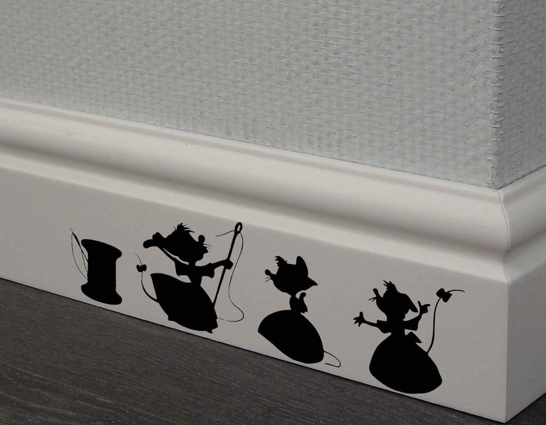 Ranking TOP17 Cinderella 3 Mesa Mall mice Decal Home Kids Decor Sticker Wall