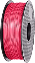 Ifun 3D printer filament PLA watermelon red Compatible With All Major 3D Printers PLA filament 1.75mm 1KG(2.2LB) Premium raw materials Top Dimensional Accuracy +/-0.02mm for your wonderful masterpiece