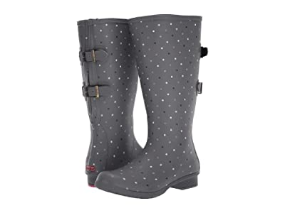 Chooka Versa Tonal Dot Tall Versa Boot (Grey) Women
