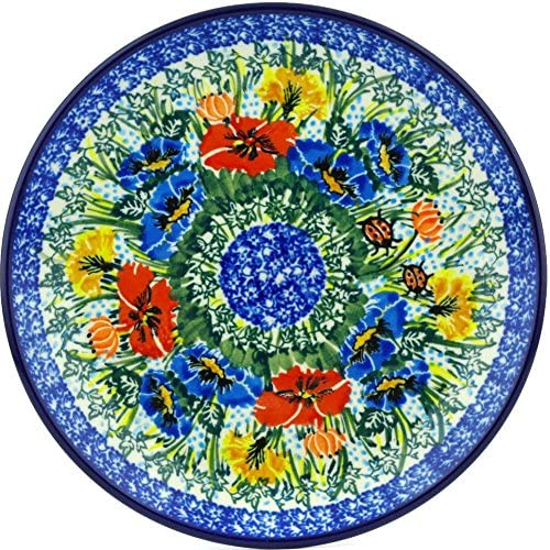 Polish Soldering Pottery 7¾-inch Dessert Plate Artysty Ceramika Large-scale sale made by