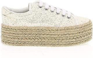 JC PLAY BY JEFFREY CAMPBELL Luxury Fashion Womens JCPLAZOMGI Beige Sneakers   Season Outlet