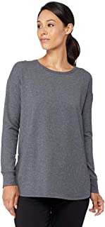 Womens Cozy Fleece Pullover Sweatshirt