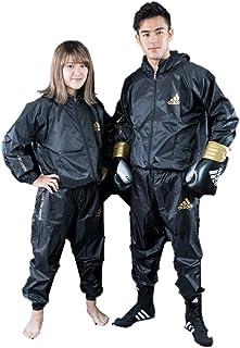 アディダス(adidas)サウナスーツ(日本向けサイズ)ジッパー・フード付 男女兼用Mサイズ(160cm)