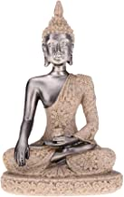 Statue Sculptures Sandstone Meditation Buddha Sculpture Hand Carved Miniature Statue Standing Statue Prayer