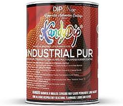 KandyDip vloeibaar rubber sproeifolie onverdund weer verwijderbaar elektronica isolatie elastisch flexibel 2,5 Liter Trans...