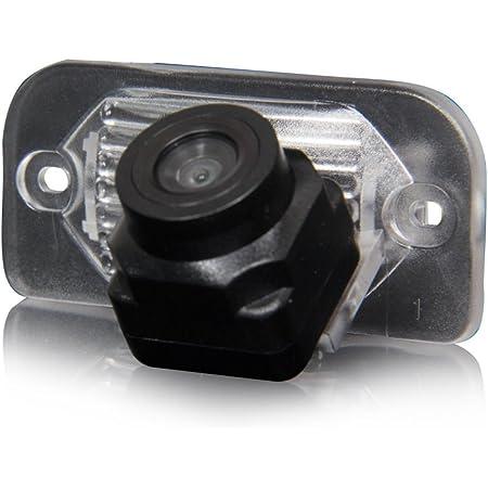 Kalakass Rückfahrkamera Nummernschild Kennzeichen Einparkhilfe Nachtsicht Für Ml350 W220 Cls W203 W211 W209 W219 Gls300 W164 Ml450 Ml350 Ml300 Ml250 Auto