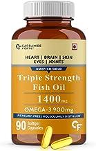 Carbamide Forte Triple Strength Omega 3 Fish Oil 1400mg Supplement – 90 Capsules