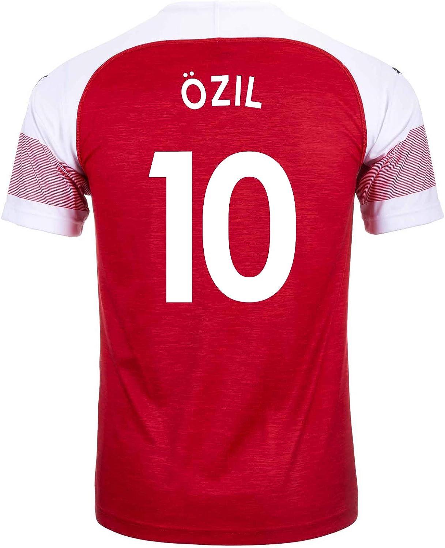 Puma Ozil  10 Arsenal Home Men's Soccer Jersey 201819