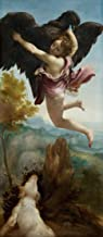 Correggio Giclee Print On Canvas-Famous Paintings Fine Art Poster-Reproduction Wall Decor(The Abduction Of Ganymede) Large Size 43.1 x 99.1cm #EDFB