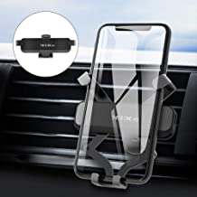Car Phone Mount, Vehicle Air Vent Phone Clip Holder, GPS Cell Phone Holder for Car, Gravity Auto-Clamping Cradle Compatible with iPhone Xs Max XR X 8 8P 7 7P 6S 6P 6, Samsung Galaxy, Google, LG