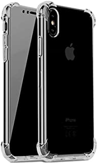 """iBarbe Compatible for iPhone XR Case,6.1"""" Display Phone, Clear Anti-Scratch,Shock-Absorption Bumper Cover,Reinforced TPU Hybrid Cushion- Gray"""