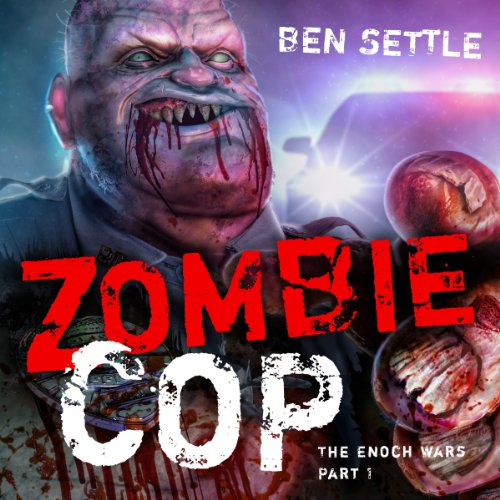 Zombie Cop audiobook cover art