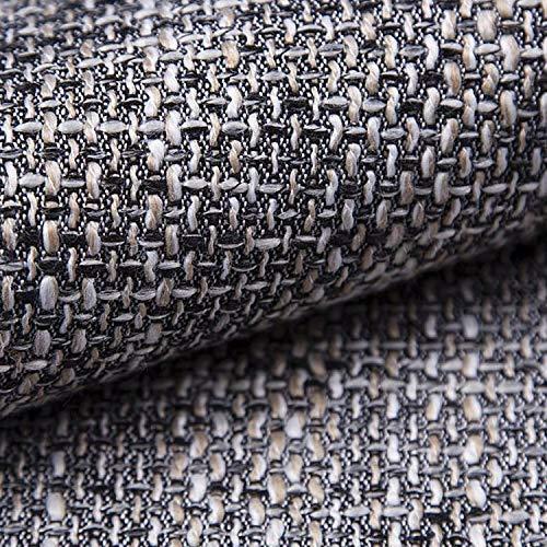 NOVELY® LANZ Polsterstoff Möbelstoff Bezugsstoff grob gewebt Meterware: Farbe: 05 Grau OK