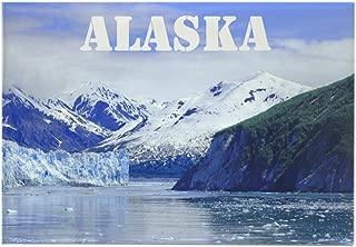 CafePress Beautiful Scenic Alaska Rectangle Magnet, 2
