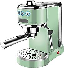 Alles-in-茅茅n koffiehuis, espresso, filter en pads Koffiemachine met melkopschuimer, retro koffiemachine espresso halfautom...