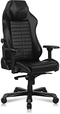 DXRacer Master Module Gaming Chair Ergonomic Office Executive Chair, Video Game Chair | Sliding Headrest, Car-Seat Lumbar Support, 4D Metal Armrest, Replaceable Seat Cushion & Removable Backrest