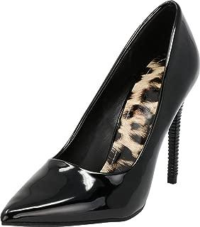 Cambridge Select Women's Classic Pointed Toe High Heel Stiletto Pump
