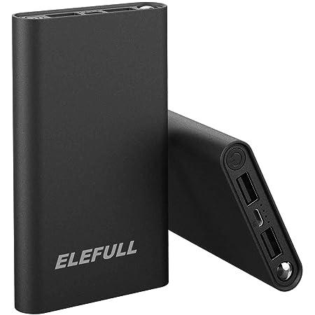 Elefull Powerbank Externer Akku 10000mah Taschenlampen Elektronik