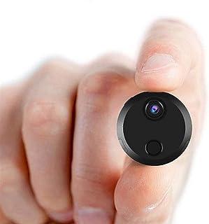كاميرا تجسس، كاميرا تجسس واي فاي بدقة 1080 بكسل بي اتش دي، كاميرات مراقبة لاسلكية صغيرة مع رؤية ليلية، وكشف الحركة، عرض عن...