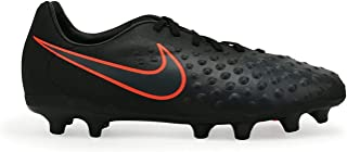 Nike Kids Magista Opus II FG Black/Total Crimson Soccer Shoes