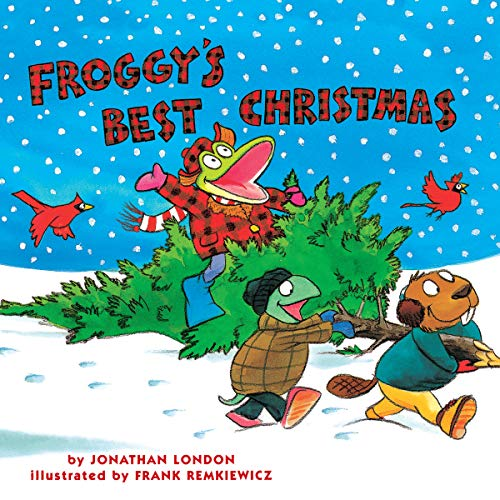 Froggy's Best Christmas audiobook cover art