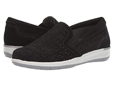 Walking Cradles Orleans (Black Perforated Nubuck) Women