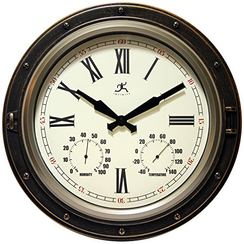 Infinity Instruments The Forecaster Clock