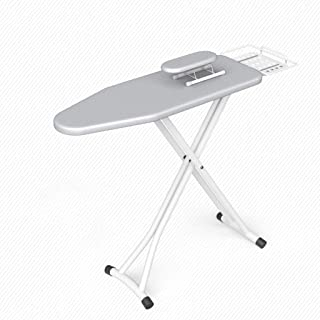 ZB-KK 120 * 34 * 90cm Table à Repasser, Table à Repasser Pliante Accueil antiglisse Renfort Table à Repasser, Fer à Vapeur...