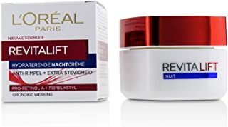 L'Oreal Paris Revitalift Anti Wrinkle and Extra Firming Night Cream with Advanced Pro-Retinol and Fibrelastyl
