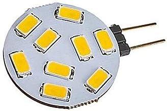 XXT G4 9 Lights DC12V LED Light Block Light (5 Pack) (Color : Warm white, Size : G4)