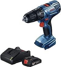 """Parafusadeira e Furadeira de Impacto de ½"""" Bosch GSB 180-LI, 18V, com 1 Bateria 1,5Ah e Carregador BIVOLT"""