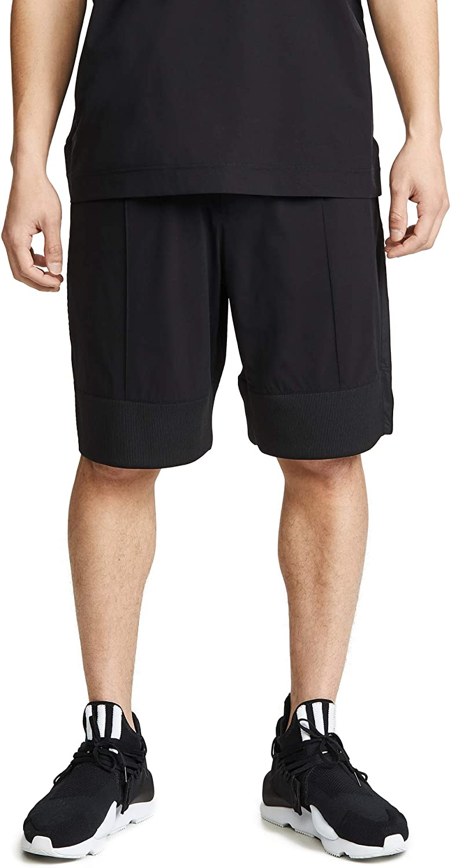 Adidas Y3 Men's M 3 STP Light NylonMat Mix Shorts