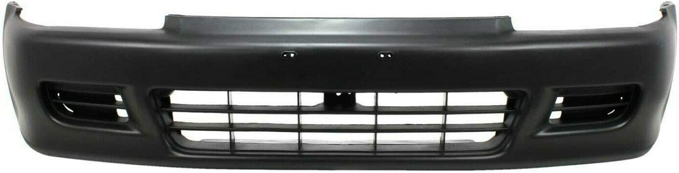 JJ Fresno Mall Front Bumper Cover Compatible 1992-1995 Civic CX with Max 57% OFF 1992-19